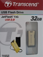 USB 2.0 Transcend JetFlash T3G 32Gb Gold