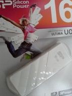 USB 2.0 SiliconPower Ultima U03 16Gb White