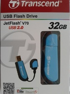 USB 2.0 Transcend JetFlash V70 32Gb