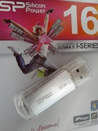 USB 2.0 SiliconPower Ultima II - I series 16Gb Silver