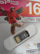 USB 2.0 SiliconPower Touch T02 16Gb Black