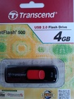 USB 2.0 Transcend JetFlash 500 4Gb Black