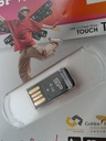 USB 2.0 SiliconPower Touch T02 4Gb Black